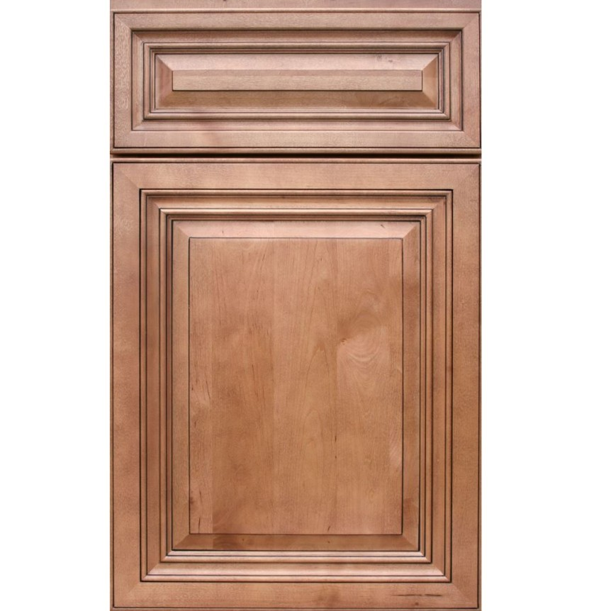 Cinnamon maple glaze cabinet rehab kitchen bath for Pre manufactured cabinets