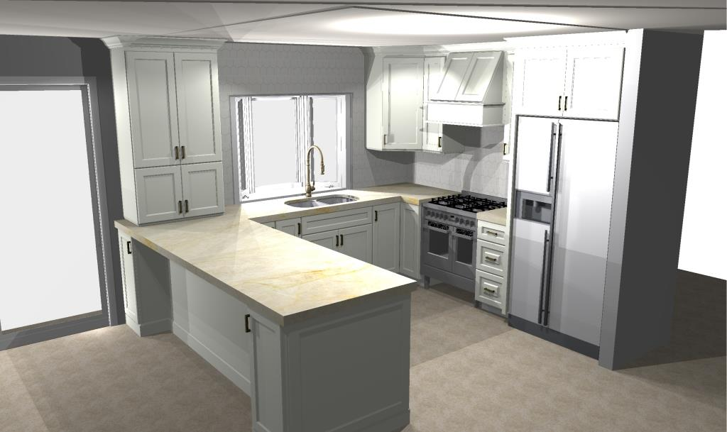 2020 Design Renderings REHAB Kitchen Bath